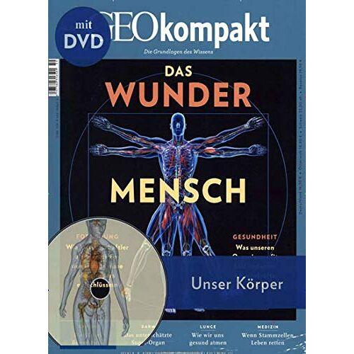 GEO Kompakt mit DVD - GEO Kompakt mit DVD 59/2019 Das Wunder Mensch - Preis vom 25.02.2021 06:08:03 h
