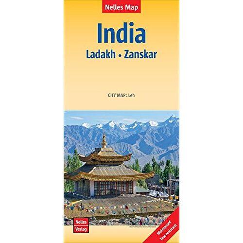 Nelles Verlag - India: Ladakh - Zanskar Polyart-Ausgabe 350T (Nelles Map) - Preis vom 11.05.2021 04:49:30 h