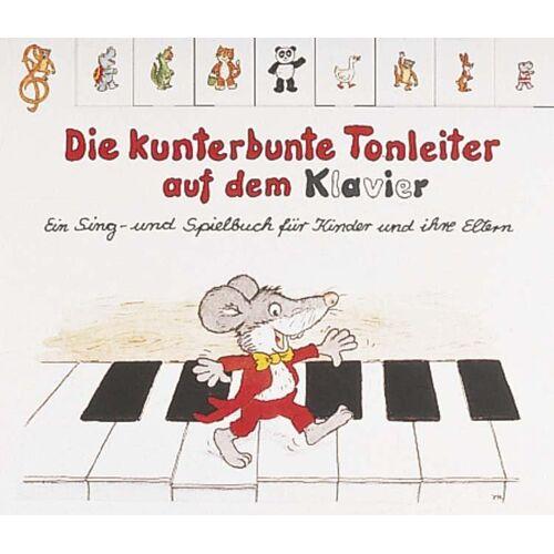 Christine Büttner - Die kunterbunte Tonleiter auf dem Klavier: Ein Sing- und Spielbuch für Kinder und ihre Eltern - Preis vom 20.10.2020 04:55:35 h