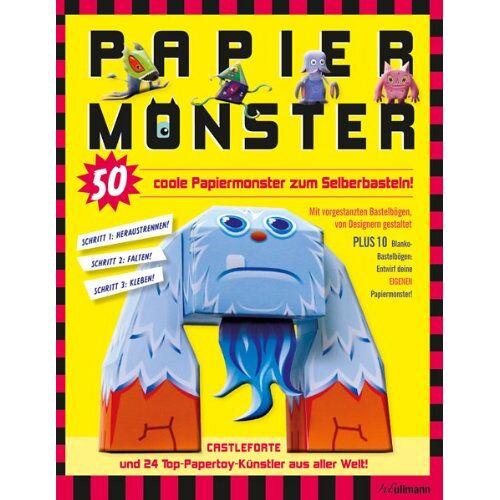 Castleforte und 24 Top-Papertoy-Künstler aus aller Welt - Papiermonster: 50 coole Papiermonster zum Selberbasteln - Preis vom 20.10.2020 04:55:35 h