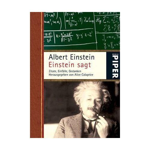 Albert Einstein - Einstein sagt: Zitate, Einfälle, Gedanken - Preis vom 15.04.2021 04:51:42 h