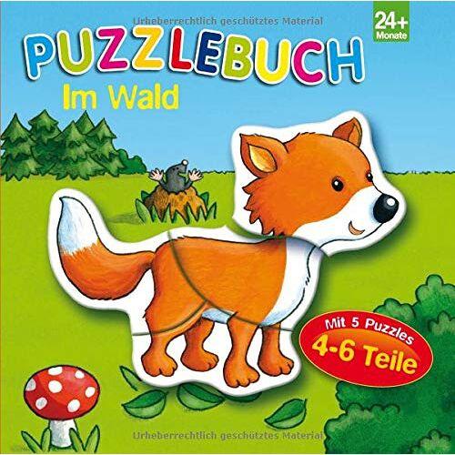 - Puzzlebuch Im Wald: 5 Puzzles mit je 4-6 Teilen - Preis vom 07.04.2021 04:49:18 h
