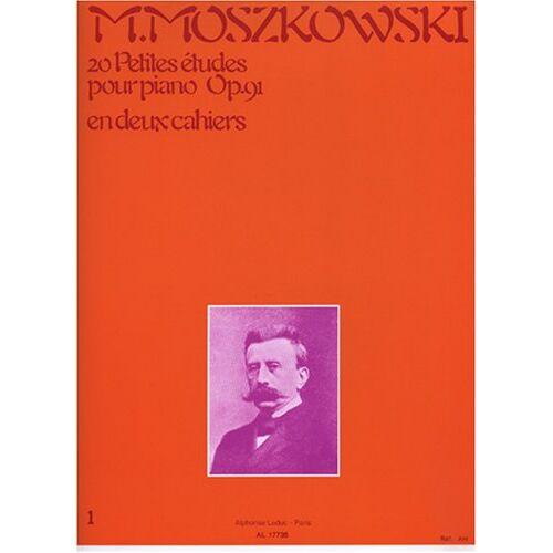 Moszkowski - 20 PETITES ETUDES OP91 VOLUME 1 PIANO - Preis vom 10.04.2021 04:53:14 h