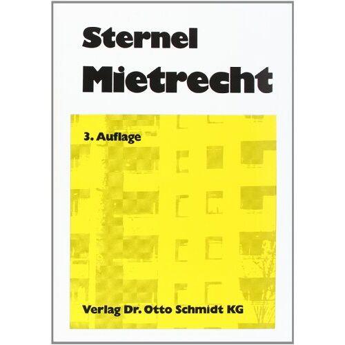 Friedemann Sternel - Mietrecht - Preis vom 20.10.2020 04:55:35 h