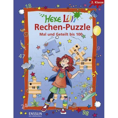 Roland Hexe Lilli Rechen-Puzzle - Mal und Geteilt bis 100: 2. Klasse. 4 Lernspiel-Puzzles - Preis vom 08.05.2021 04:52:27 h