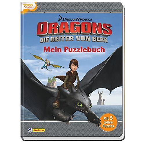 - Dreamworks Dragons: Mein Puzzlebuch: Mit 5 tollen Puzzles - Preis vom 07.04.2021 04:49:18 h