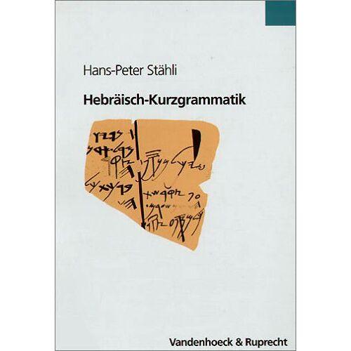 Stähli, Hans P - Hebräisch-Kurzgrammatik - Preis vom 09.05.2021 04:52:39 h