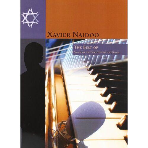 Thomas Rothenberger - Xavier Naidoo: The Best Of. Songbook für Piano, Gitarre und Gesang: für Klavier (linke + rechte Hand), Gesang (Melodielinie + Text) und Gitarre (Akkordsymbole + Griffbilder) - Preis vom 28.02.2021 06:03:40 h