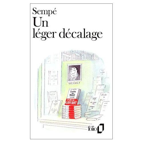 Sempé - Un léger décalage (Folio) - Preis vom 22.02.2021 05:57:04 h