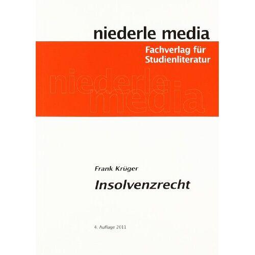 Frank Krüger - Insolvenzrecht - Preis vom 17.04.2021 04:51:59 h