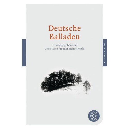 Christiane Freudenstein - Deutsche Balladen (Fischer Klassik) - Preis vom 20.10.2020 04:55:35 h