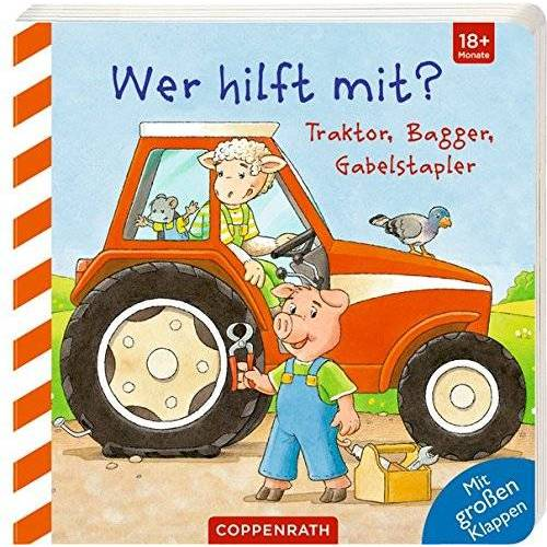 - Wer hilft mit?: Traktor, Bagger, Gabelstapler - Preis vom 04.09.2020 04:54:27 h