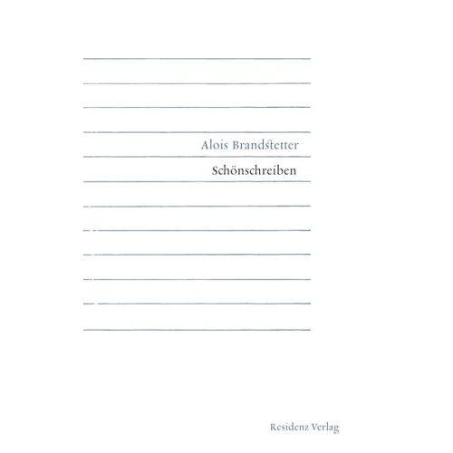 Alois Brandstetter - Schönschreiben - Preis vom 20.10.2020 04:55:35 h