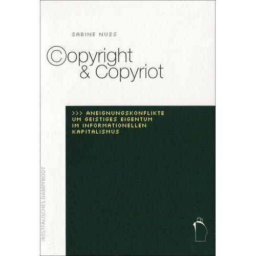 Sabine Nuss - Copyright & Copyriot - Preis vom 14.01.2021 05:56:14 h