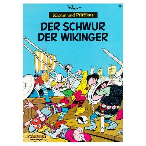 Peyo - Johann und Pfiffikus, Bd.10, Der Schwur der Wikinger - Preis vom 26.11.2020 05:59:25 h