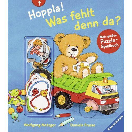 Daniela Prusse - Hoppla! Was fehlt denn da?: Mein großes Puzzle-Spielbuch - Preis vom 02.03.2021 06:01:48 h