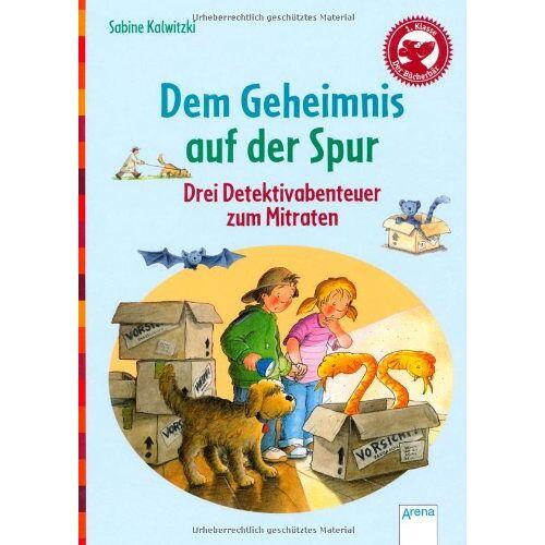 Sabine Kalwitzki - Dem Geheimnis auf der Spur: Der Bücherbär: Drei Detektivabenteuer zum Mitraten - Preis vom 05.05.2021 04:54:13 h
