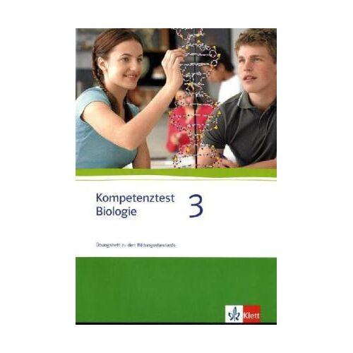 Seitz, Hans J - Kompetenztest Biologie 3 - Preis vom 06.05.2021 04:54:26 h