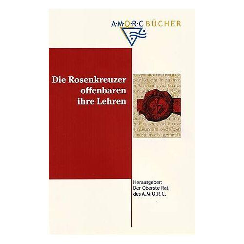 Der Oberste Rat des A.M.O.R.C. - Die Rosenkreuzer offenbaren ihre Lehren - Preis vom 31.03.2020 04:56:10 h