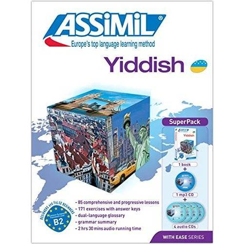 Assimil SAS - Yiddish: Yiddish for English speakers (Book + 4 CD Audio + 1 CD MP3) - Preis vom 09.12.2019 05:59:58 h