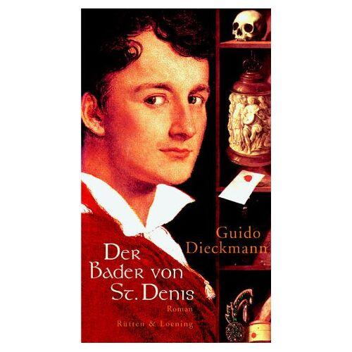 Guido Dieckmann - Der Bader von St. Denis - Preis vom 11.05.2021 04:49:30 h