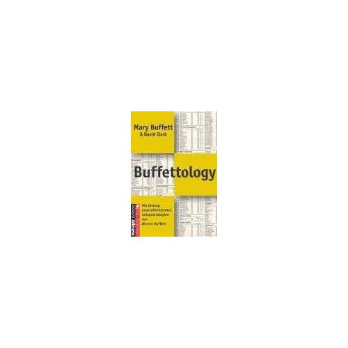 Mary Buffett - Buffettology - Preis vom 05.09.2020 04:49:05 h