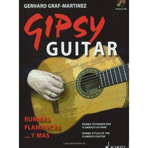 Gerhard Graf-Martinez - Gipsy Guitar: Rumbas Flamencas ... y mas. Rumba-Techniken der Flamenco-Gitarre. Gitarre. Ausgabe mit 2 CDs. - Preis vom 14.04.2021 04:53:30 h
