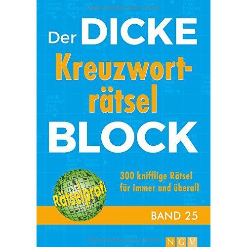 - Der dicke Kreuzworträtsel-Block Band 25 - Preis vom 18.04.2021 04:52:10 h
