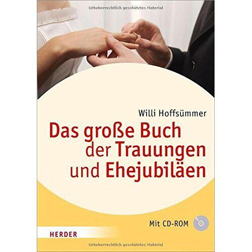 Willi Hoffsümmer - Das große Buch der Trauungen und Ehejubiläen - Preis vom 22.01.2020 06:01:29 h