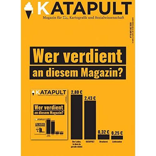 KATAPULT Verlag - KATAPULT Magazin Ausgabe 19: Wer verdient an diesem Magazin? - Preis vom 10.04.2021 04:53:14 h