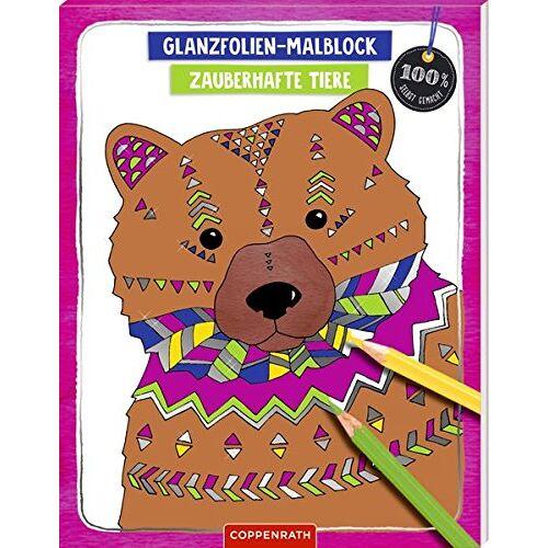 - Glanzfolien-Malblock: Zauberhafte Tiere (100% selbst gemacht) - Preis vom 23.01.2020 06:02:57 h