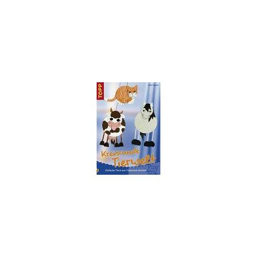 Silke Kobold - Kreisrunde Tierwelt. Einfache Tiere aus Tonkarton-Kreisen - Preis vom 21.10.2020 04:49:09 h