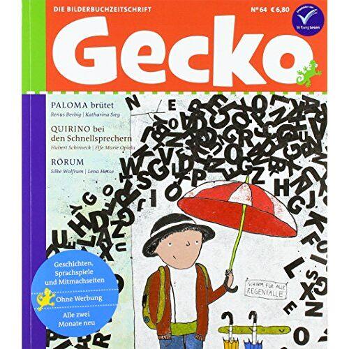 Renus Berbig - Gecko Kinderzeitschrift Band 64: Die Bilderbuchzeitschrift - Preis vom 21.01.2021 06:07:38 h