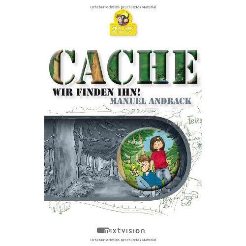 Manuel Andrack - 2 mit Grips und GPS. Cache! Wir finden ihn! Ein Geocaching-Roman für Kinder - Preis vom 09.05.2021 04:52:39 h