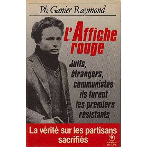 Ganier Raymond-P - L'affiche rouge (Mu0456) - Preis vom 12.04.2021 04:50:28 h