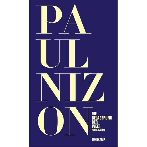 Paul Nizon - Die Belagerung der Welt: Romanjahre - Preis vom 22.04.2021 04:50:21 h