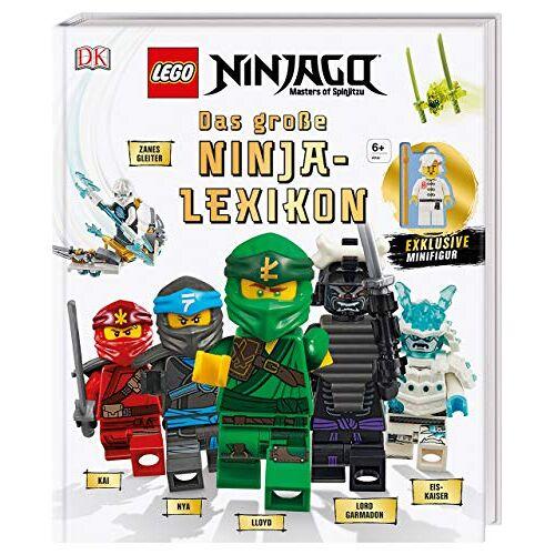 Arie Kaplan - LEGO® NINJAGO® Das große Ninja-Lexikon: Mit exklusiver Minifigur - Preis vom 26.02.2020 06:02:12 h