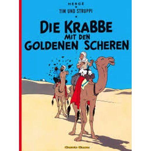 Hergé - Tim und Struppi, Carlsen Comics, Neuausgabe, Bd.8, Die Krabbe mit den goldenen Scheren - Preis vom 18.04.2021 04:52:10 h
