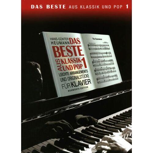 Hans-Günter Heumann - Das Beste 1 aus Klassik + Pop. Klavier - Preis vom 24.02.2021 06:00:20 h