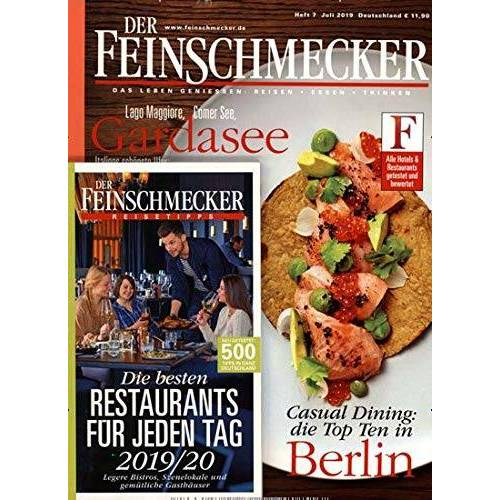 Der Feinschmecker - Der Feinschmecker 7/2019 Die Besten Restaurants - Preis vom 16.04.2021 04:54:32 h