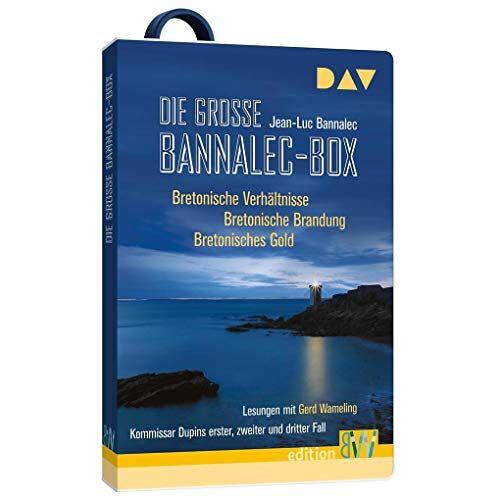 Jean-Luc Bannalec - Die große Bannalec-Box: Bretoniesche Verhältnisse, Bretonische Brandung, Bretonisches Gold - Preis vom 13.05.2021 04:51:36 h