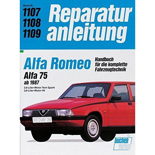 - Alfa Romeo 75 (Reparaturanleitungen) - Preis vom 16.04.2021 04:54:32 h