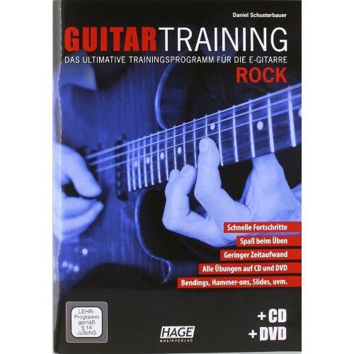 Daniel Schusterbauer - Guitar Training Rock: Das ultimative Trainingsprogramm für die E-Gitarre - Preis vom 11.05.2021 04:49:30 h