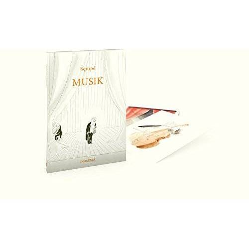 Jean-Jacques Sempé - Musik (Postkartenbuch): 20 Postkarten - Preis vom 28.03.2020 05:56:53 h