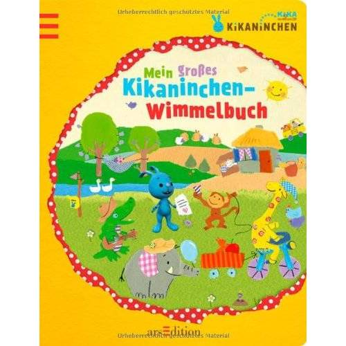 kein Autor - Kikaninchen - Mein großes Kikaninchen-Wimmelbuch - Preis vom 20.01.2021 06:06:08 h