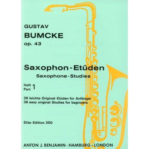 - Saxophon-Etüden: 36 leichte Original-Etüden für Anfänger. Vol. 1. op. 43. Saxophon. - Preis vom 18.10.2020 04:52:00 h