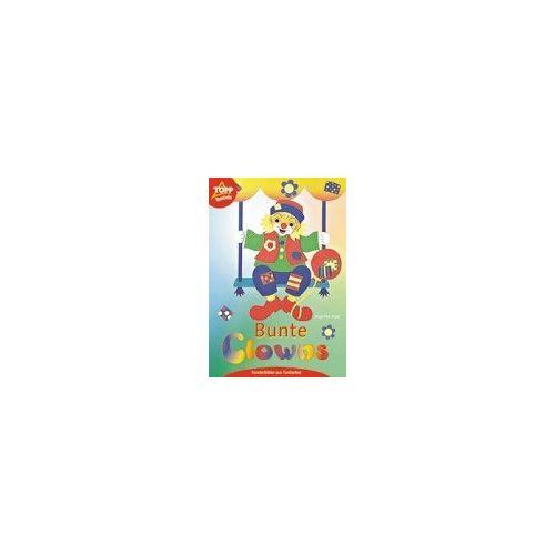 Angelika Kipp - Bunte Clowns. Fensterbilder aus Tonkarton - Preis vom 21.10.2020 04:49:09 h