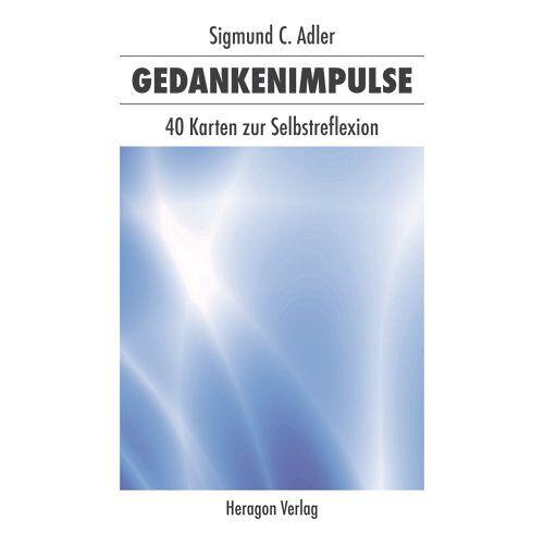 Sigmund C. Adler - Gedankenimpulse: 40 Karten zur Selbstreflexion - Preis vom 21.10.2020 04:49:09 h