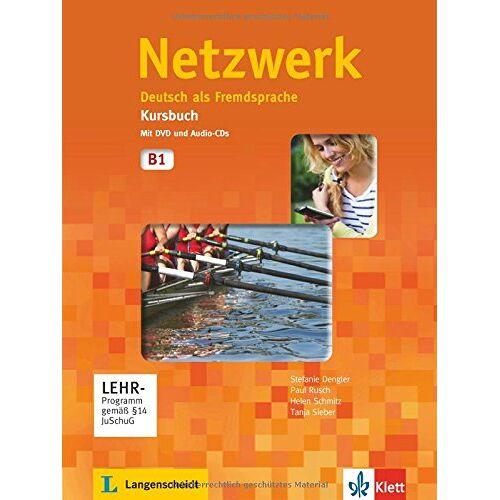 Stefanie Dengler - Netzwerk / Kursbuch mit DVD und 2 Audio-CDs B1: Deutsch als Fremdsprache - Preis vom 21.10.2019 05:04:40 h