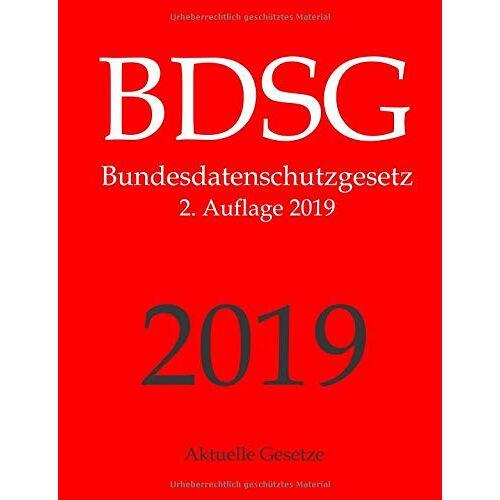 Aktuelle Gesetze - BDSG, Bundesdatenschutzgesetz, Aktuelle Gesetze - Preis vom 07.05.2021 04:52:30 h